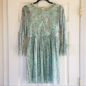 NWT Speechless Mesh Floral Dress SZ 16 (girls)